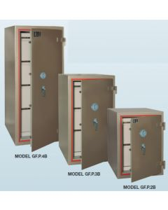 CMI Class B Fire Resisting Filing Cabinets G-FP4B - 4 Drawers