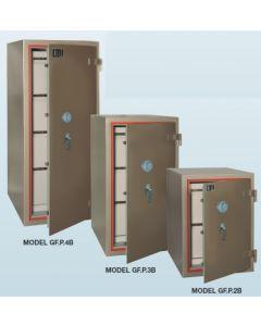 CMI Class 'B' Fire Resisting Filing Cabinets G-FP3B - 3 Drawers