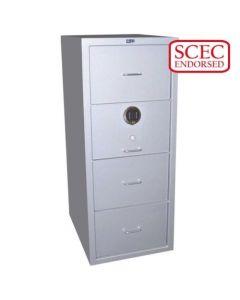 Class B 4 Drawer Filing Cabinets Model G-CB4