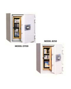 CMI Computer Data and Microfilm Safes 825Ds-D